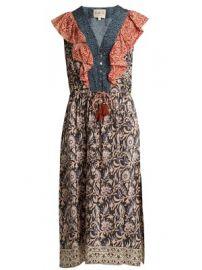Maho Border floral-print silk dress at Matches