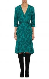 Maison Mayle Georgette Wrap Dress at Barneys