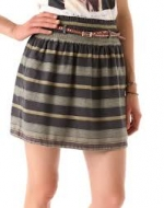 Maison Scotch striped skirt on Vampire Diaries at Shopbop
