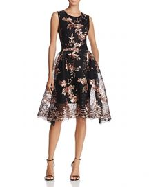 Maje Holiday Fit Flare Dress at Bloomingdales