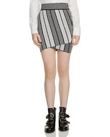 Maje Jessy Knit Mini Skirt at Bloomingdales