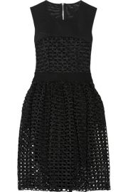 Maje  Restano guipure lace and tulle dress at Net A Porter