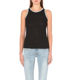 Maje Bead Trim Top at Selfridges