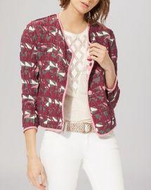 Maje Jacket - Reversible Jacquard at Bloomingdales