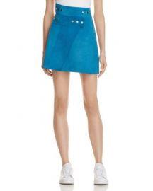 Maje Joseph Suede Wrap Skirt - 100  Exclusive at Bloomingdales