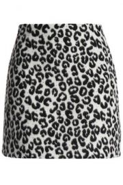 Maje Leopard Skirt at The Outnet