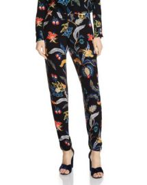Maje Papaye Printed Pants at Bloomingdales