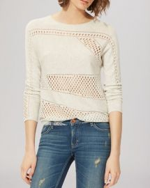 Maje Sweater - Milord Perforated at Bloomingdales