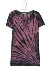 Maje Tee Tie Dye Lace-Up at Bloomingdales