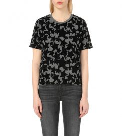 Maje Temporair Star Print Tshirt at Selfridges