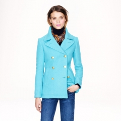 Majesty Pea Coat at J. Crew