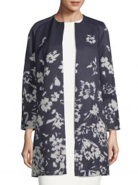 Makeda Floral-Print Jacket by Lafayette 148 New York at Saks Off 5th