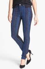 Malhia Kent Pieced Skinny Jeans at Nordstrom
