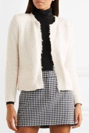 Mama bouclé jacket at Net A Porter