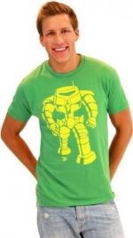 Man Bot Vintage Green Tee at TV Store Online