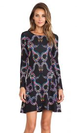 Mara Hoffman Ballerina Dress in Snakes Black  REVOLVE at Revolve