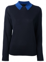 Marc By Marc Jacobs Contrasting Neck Sweater - Cuccuini at Farfetch