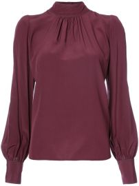 Marc Jacbos roll neck blouse  at Farfetch