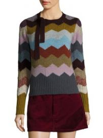Marc Jacobs - Cashmere Chevron Sweater at Saks Off 5th
