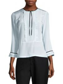 Marc Jacobs - Pintuck Blouse at Saks Fifth Avenue
