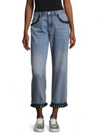 Marc Jacobs - Pom-Pom Jeans at Saks Fifth Avenue