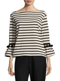 Marc Jacobs - Striped Pom-Pom Top at Saks Fifth Avenue