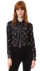 Marc Jacobs Button Up Shirt with Tie at Shopbop