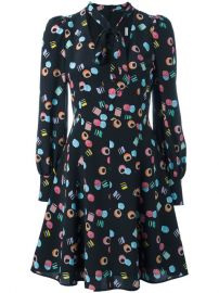 Marc Jacobs Licorice Print Dress  338 - Buy SS17 Online - Fast Delivery  Price at Farfetch