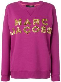 Marc Jacobs Logo Patch Sweatshirt - Farfetch at Farfetch