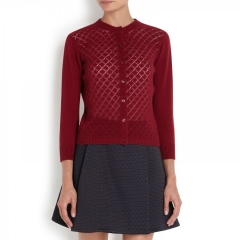 Marc Jacobs Pointelle Cardigan at Net A Porter