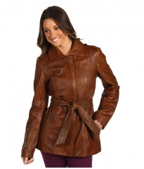 Marc New York by Andrew Marc Divine Jacket Walnut at 6pm