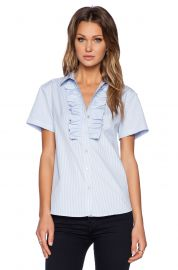 Marc by Marc Jacobs Candy Stripe Short Sleeve Shirt at Revolve