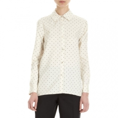 Marc by Marc Jacobs Flocked Dot Shirt at Barneys