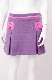 Marc jacobs pink and purple skirt at Snobswap