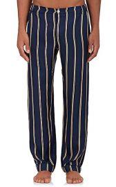 Marcel Silk Pajama Pants by Sleepy Jones at Barneys
