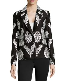 Marchesa Voyage Embroidered Blazer at Last Call