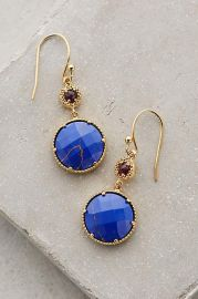 Marchmont Drops blue at Anthropologie