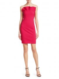 Marcy Strapless Ruffle Mini Dress at Saks Fifth Avenue