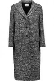 Margit boucl   coat at The Outnet