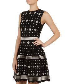 Mariae Star Knit Dress at Bloomingdales