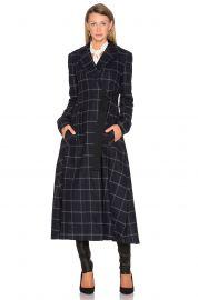 Marissa Webb Feria Coat in Black Iris  at Revolve