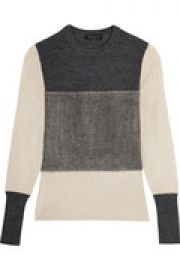 Marissa color-block merino wool sweater at The Outnet