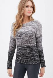 Marled Ombre Sweater at Forever 21