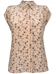 Marley Anchors Blouse by Equipment at Les Nouvelles