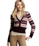Marleys cardigan from Xmas episode of Glee at H&m