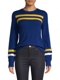Marlowe Striped Wool & Cashmere Sweater at Saks Fifth Avenue