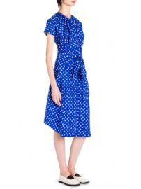 Marni - Paintbrush Dot Shift Cotton Dress at Saks Fifth Avenue