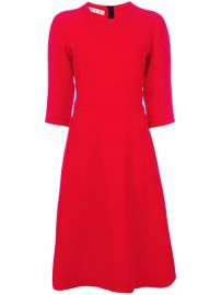 Marni Flared Shift Dress  1 730 - Buy Online AW17 - Quick Shipping  Price at Farfetch