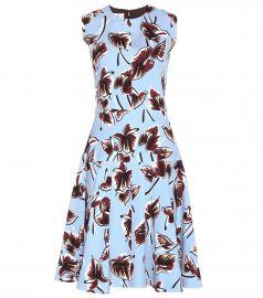 Marni Printed Crepe Shift Dress at Mytheresa