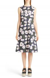 Marni Whisper Print Cotton Dress at Nordstrom